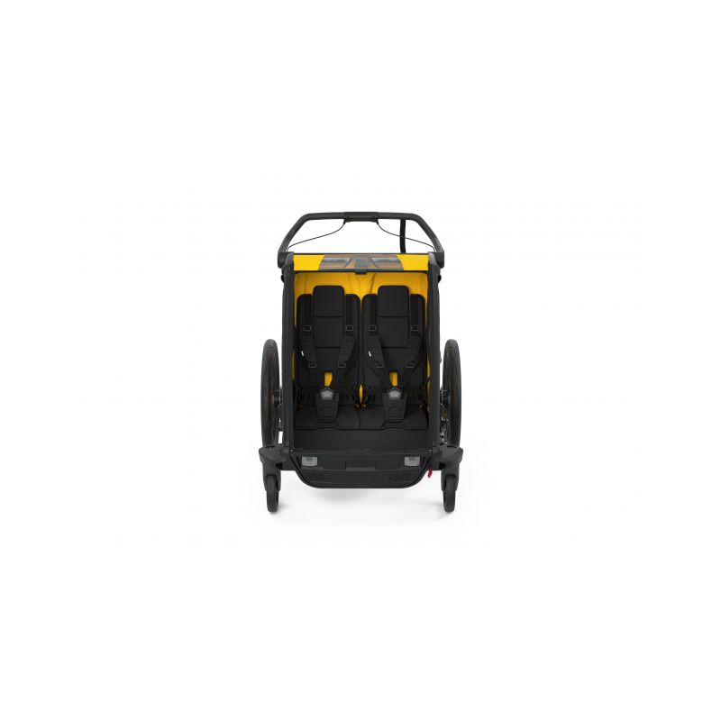 CROOZER KID FOR 2 PLUS Vaaya JUNGLE GREEN 2020 2v1 odpružený vozík za kolo  Croozer Kid