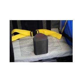 WIKE PREMIUM DOUBLE ORANGE vozík za kolo - 1