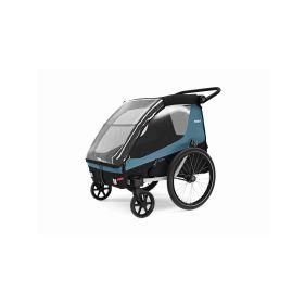WIKE SPECIAL NEEDS LARGE TURQUOISE speciální vozík za kolo pro větší děti do 150cm - 1