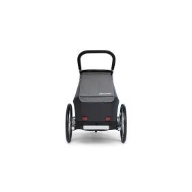 WIKE SOFTIE RED odpružený vozík za kolo 3v1 s bočním větráním - 1