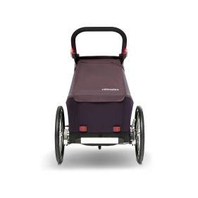 WIKE SOFTIE ORANGE odpružený vozík za kolo 3v1 s bočním větráním - 1