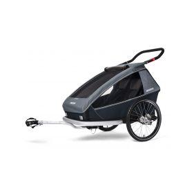 THULE CHARIOT CTS CROSS1, BLUE odpružený vozík za kolo - 1
