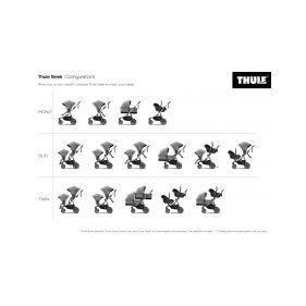 THULE CHARIOT CTS SPORT1, BLACK & JOGGER - 1