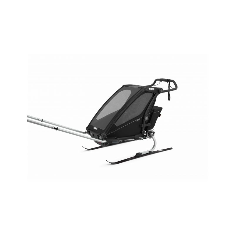 CROOZER KID FOR 1 PLUS Vaaya JUNGLE GREEN 2020 2v1 odpružený vozík za kolo  Croozer Kid